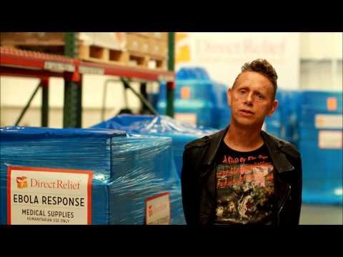 Ebola Relief: Martin Gore (Depeche Mode) Calls for Increased Support