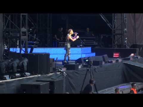 "Singing ""Happy Birthday Martin Gore"" in Prague 23.07.2013"