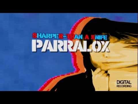 Parralox - Sharper Than A Knife (Lyric Video) (Pete Hammond Remix)