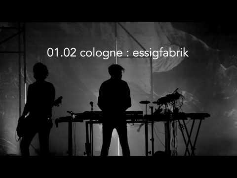 Trentemøller 'Fixion' tour 2017 - Europe