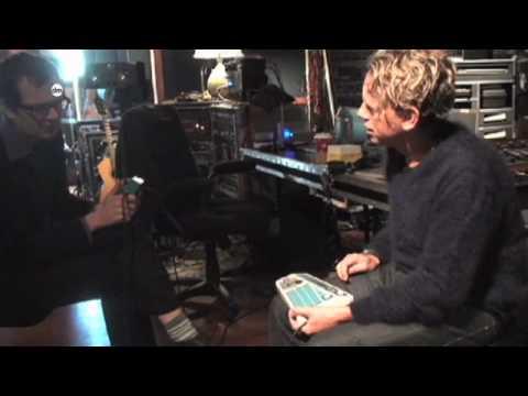 Depeche Mode - In The Studio (2008) - Web Clip #9