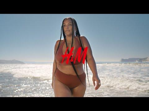 Paloma Elsesser's summer in H&M swimwear ft. Fousheé