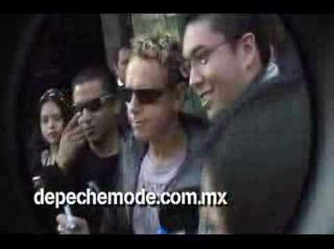 Martin Gore en la ciudad de México