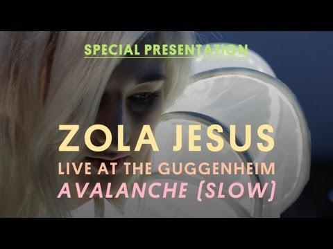 "Zola Jesus Live at The Guggenheim - ""Avalanche"""