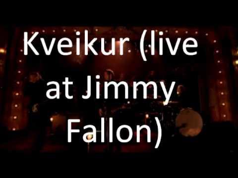 Sigur Rós - Kveikur [Live at Jimmy Fallon]