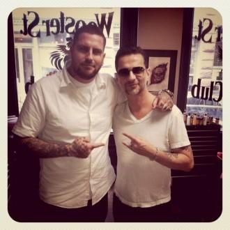 Dave im Tattoo-Shop