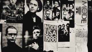 """Albumcover zum Live-Album """"101"""" von Depeche Mode"""