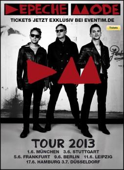 Depeche Mode Tour Poster 2013