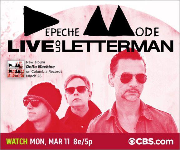 Depeche Mode bei CBS