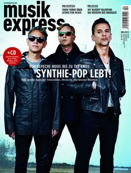 Die Aprilausgabe des Musikexpress (2013)