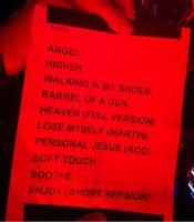 Setliste Depeche Mode beim SXSW