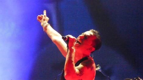 Dave Gahan live (Foto: Uwe Grund)