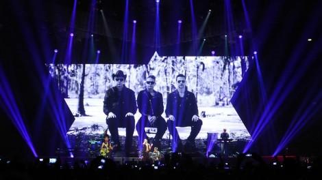Depeche Mode live (Archivfoto: Uwe Grund)