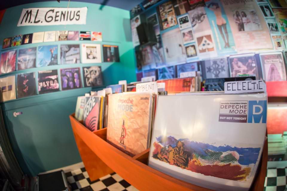 Depeche Mode Fan Exhibition in Berlin. Foto: Deutsche Telekom.