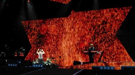 Depeche Mode live. Foto: Uwe Grund