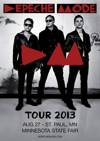 Depeche Mode in St. Paul, Minnesota