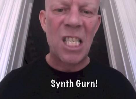 Vince Clarke beim Synth Gurning