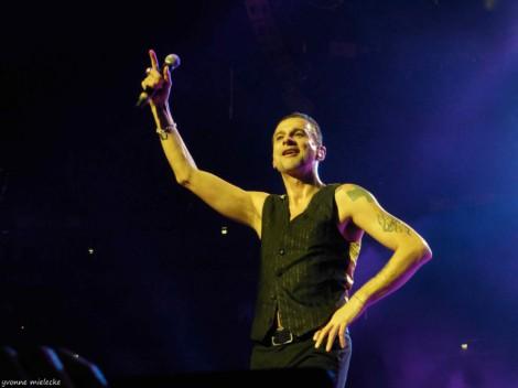 Dave Gahan rockt! (Archivfoto: Yvonne Mielecke)