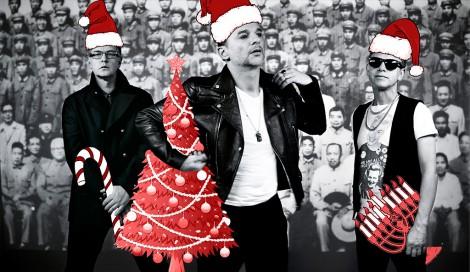 Weihnachtsgrüße von Depeche Mode.