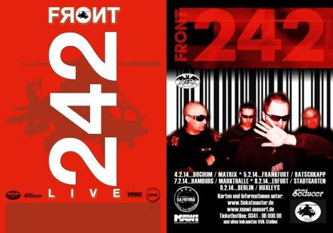 Front 242 sind wieder live zu sehen.