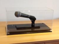 Dieses Mikrofon wird für den guten Zweck versteigert.