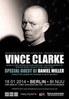 Vince Clark für DJ-Set in Berlin
