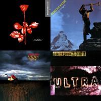 Depeche Mode auf Vinyl 180 Gramm
