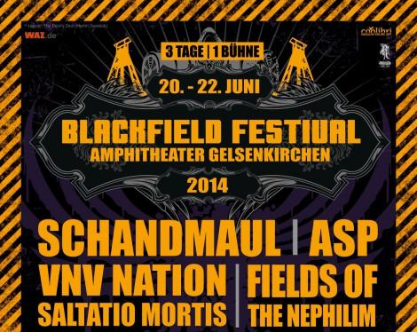 Blackfield Festival 2014