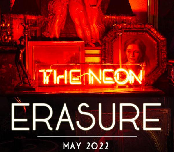 Tourposter von Erasure - The Neon Tour - Europe 2022