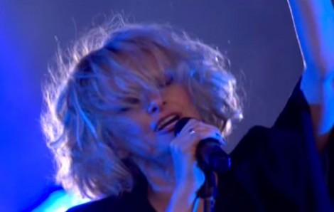 Goldfrapp live (Videocapture)