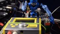 Die LEGO-Roboter-Band Toa Mata.