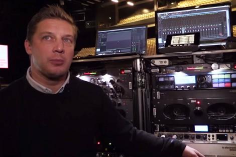 Antony King (FOH Sound Engineee)