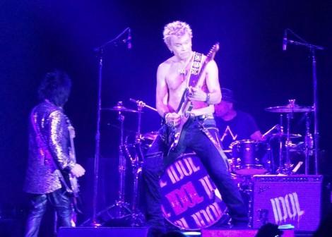 Billy Idol live. Foto: Chantal Völker