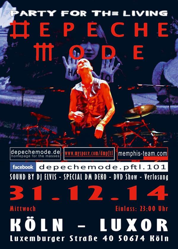 Mit Depeche Mode ins neue Jahr.