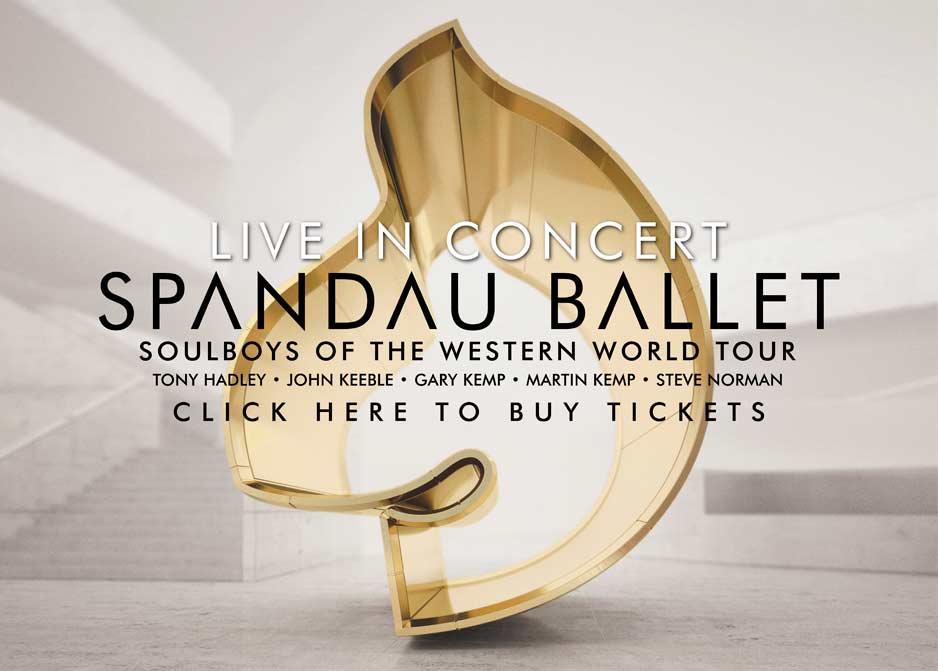 Spandau Ballet sind 2015 wieder live zu erleben.