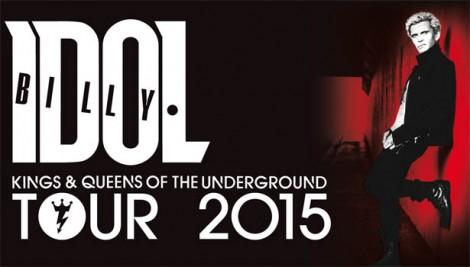 Billy Idol Tour 2015