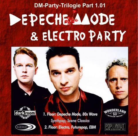 Depeche Mode & Electro-Party Trilogie Leipzig