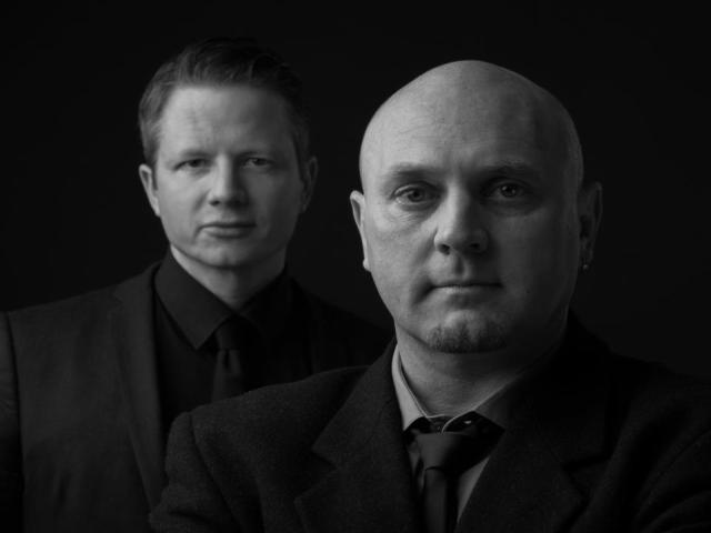 Toby Hartwig (links) und Uwe Kallenbach (rechts) haben ihre Band SYNTEC nie offiziell aufgelöst.