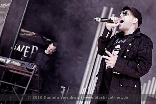 Alexandar Goldmann im Jahr 2010 live on stage.
