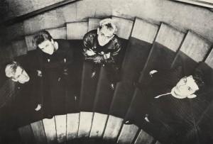 Depeche Mode in den Berliner Hansastudios.