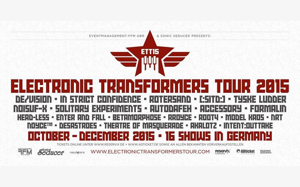 Electronic Transformers Tour 2015