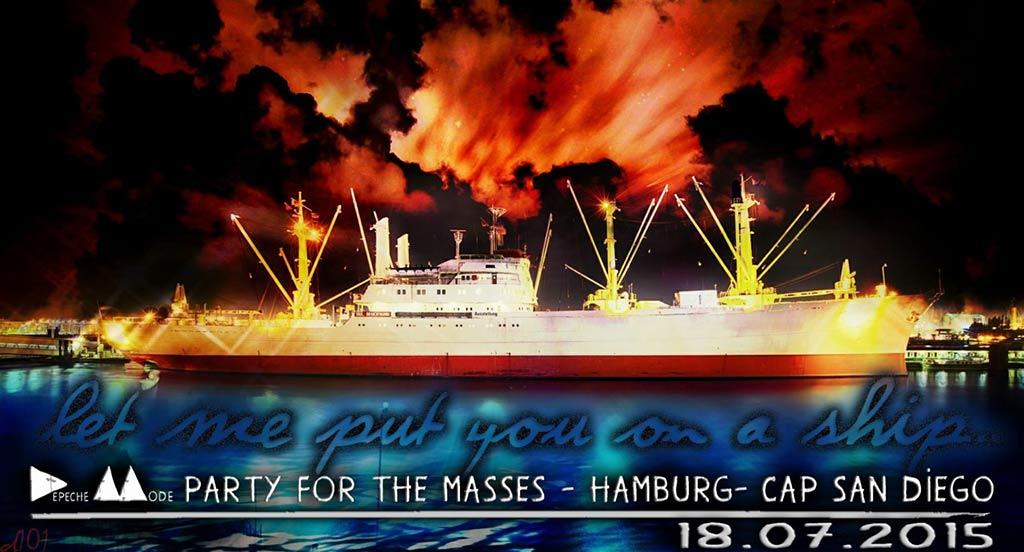 Die Masses auf dem Schiff.