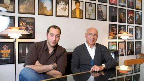 Marek und André Lieberberg. Foto: Pressefoto