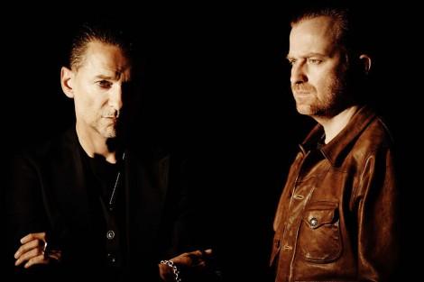 Dave Gahan und RIch Machin