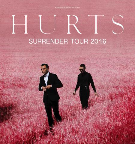Hurts - Surrender-Tour
