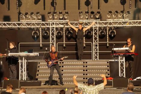 LOTOS live beim R.SA Sommerfestival im vergangenen Jahr.