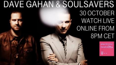 Dave Gahan & Soulsavers im Livestream