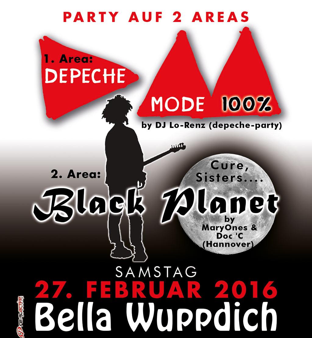 Flyer: 100 Prozent Depeche Mode