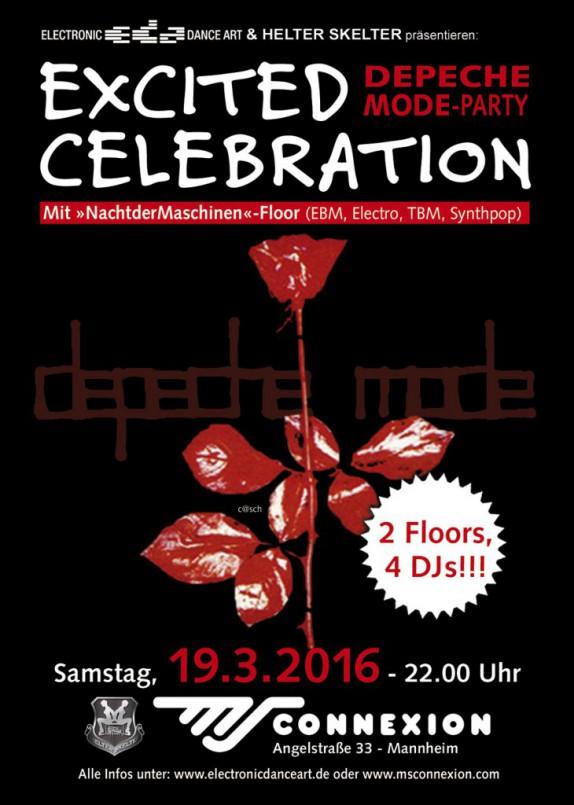 Excited Celebration in Mannheim