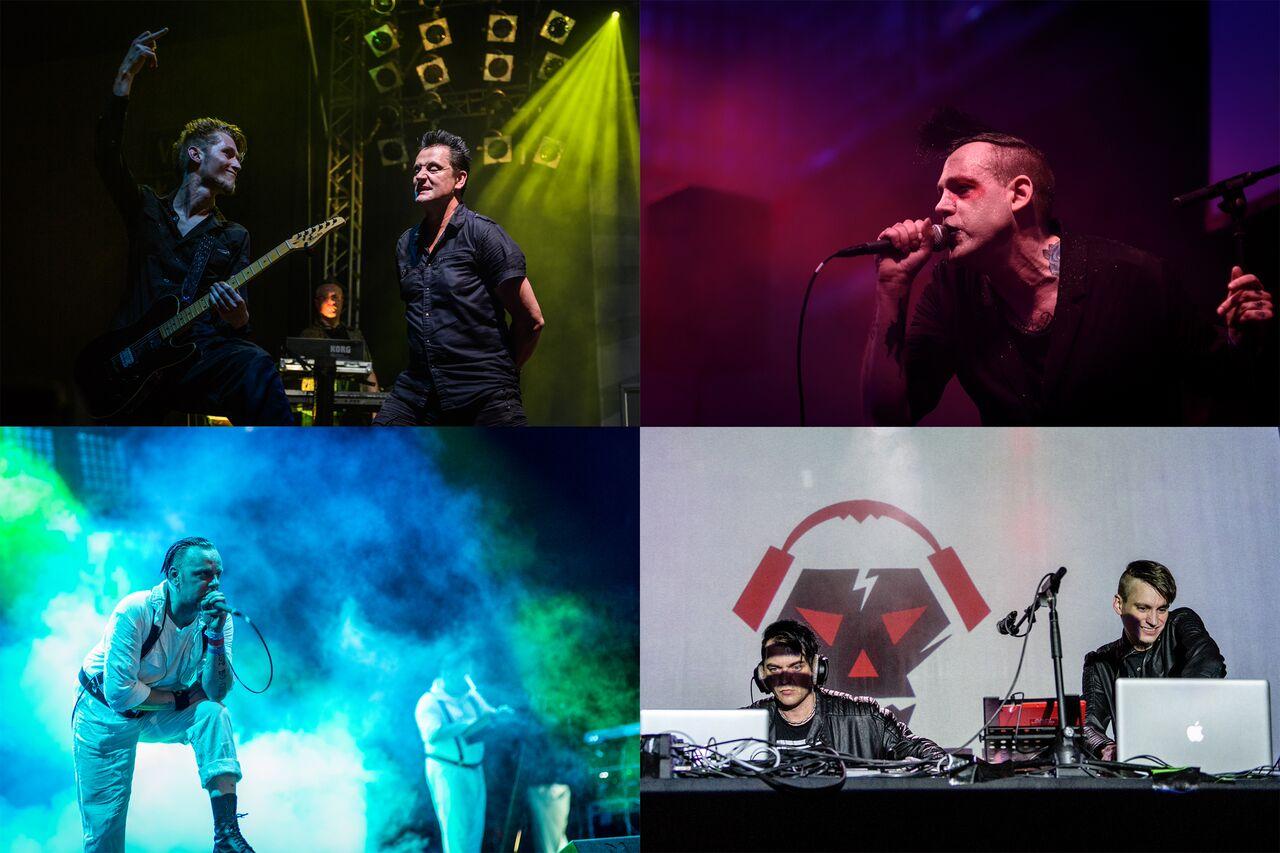 Wave Gotik Treffen 2016. Collage von Frank Güthoff (www.störbild.de)